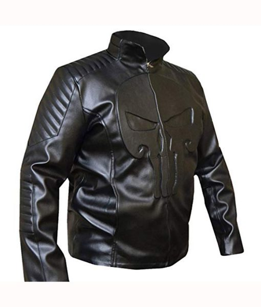 Frank Castle Leather Jacket