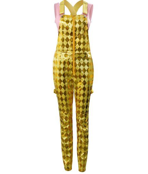 Margot Robbie Harley Quinn Golden Romper