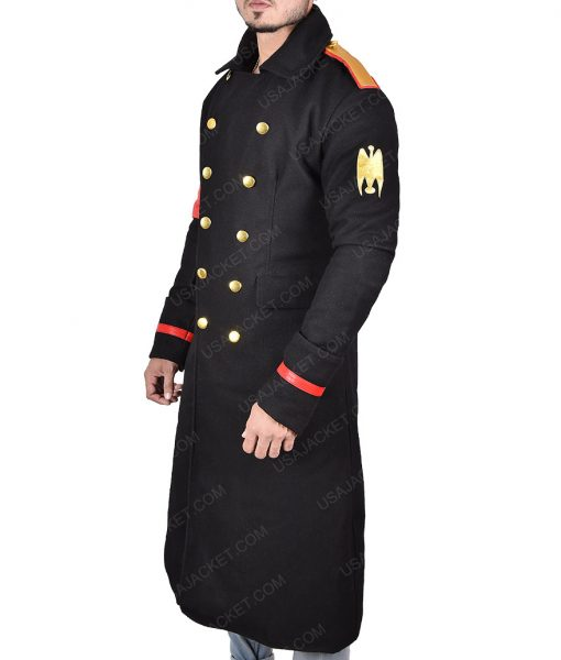 Pop Singer MJ Military Long Coat