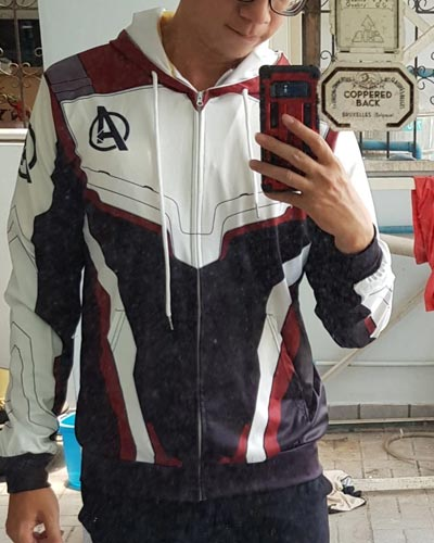 Avengers Quantum Hoodie For Men