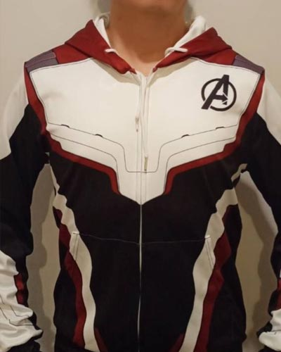 Avengers Suit Hoodie for men