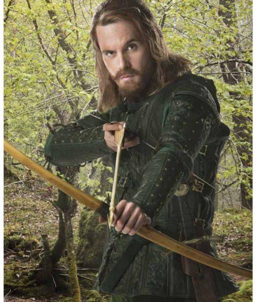 Doctor Who S08 Robin Hood Hooded Jacket