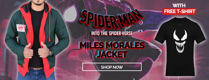 Spiderman Into the Spider Verse Miles