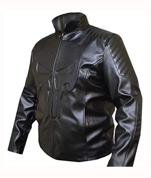 Jon Bernthal Biker Jacket