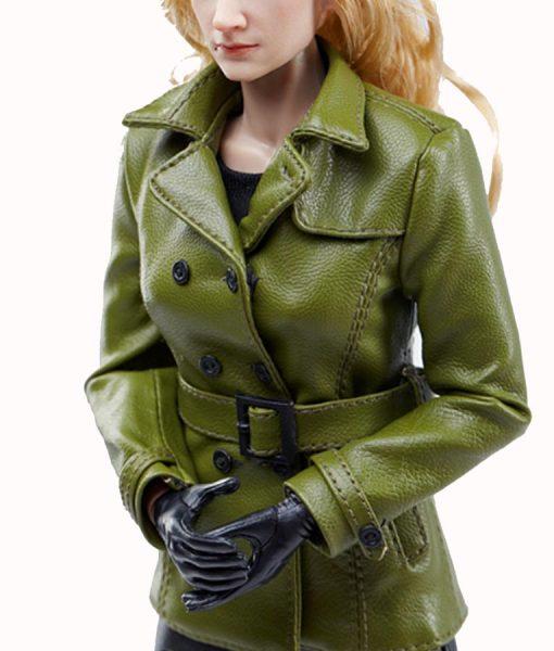 Green Viper Coat
