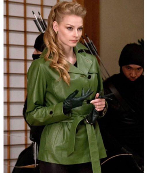 The Wolverine Green Coat