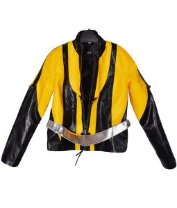 Silk Spectre II Watchmen Yellow and Black Patches Laurie Jupiter Jacket