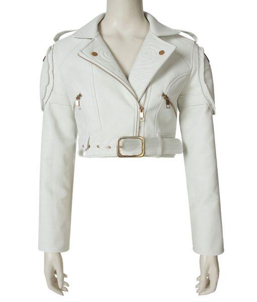 Lady Leather Motorcycle Jacket