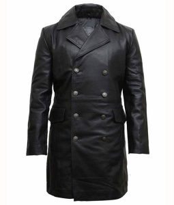 Taylor Kitsch Black Coat