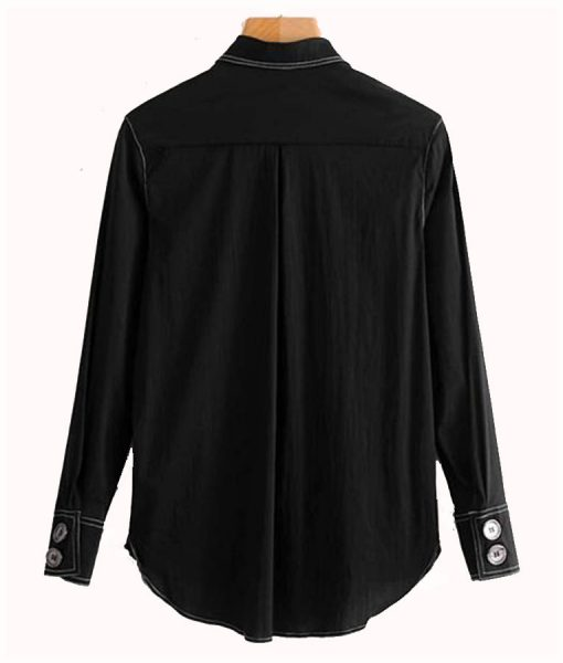 Zendaya Black Shirt