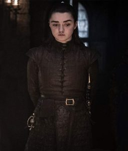 Maisie Williams Game ofThrones Jacket