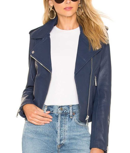 Ava Jalali Leather Jacket