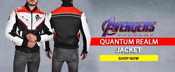 Avengers Endgame Quantum Realm Jacket Web Front Banner
