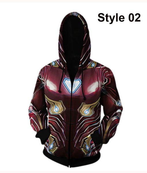 Avengers Endgame Iron Man Hoodie