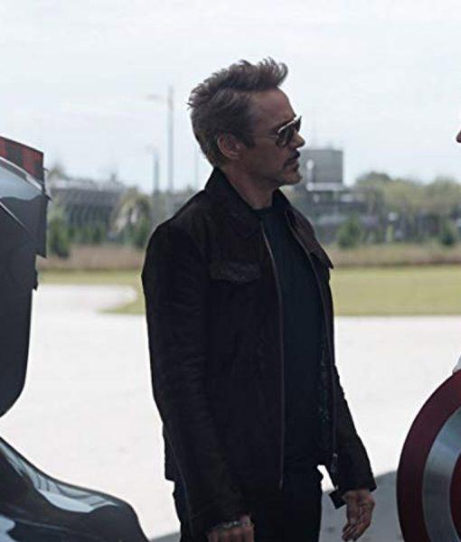 Avengers Endgame Tony Stark Cotton Jacket