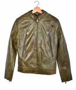 Kate Beckett Green Leather Jacket