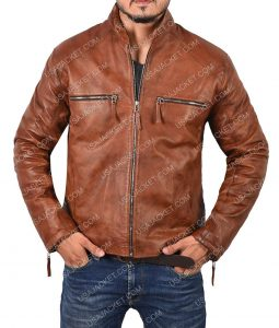 Cyclops Jim Lee Brown Jacket