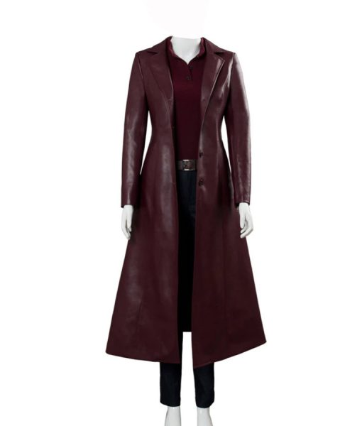 Dark Phoenix Jean Grey Trench Coat