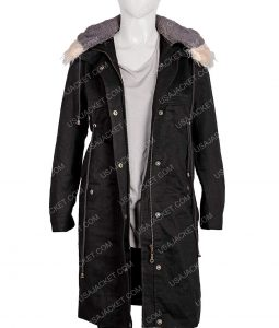 Eve Polastri KILLING EVE SANDRA OH Black Coat