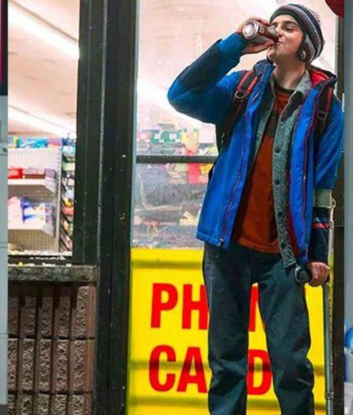 Freddy Freeman Shazam Jack Dylan Grazer Blue Jacket