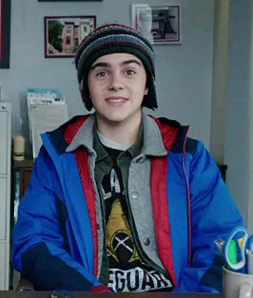 Jack Dylan Grazer Shazam Freddy Freeman Blue Jacket