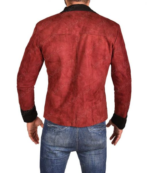 Captain John Hart Red Jacket