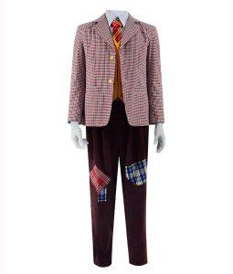 Arthur Fleck Checkered Jacket