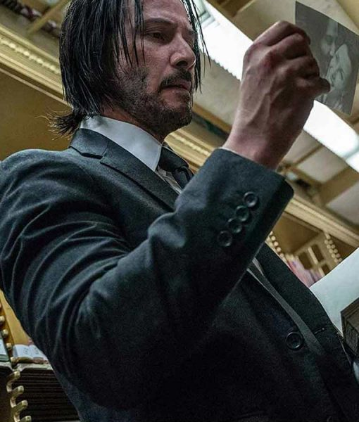 John Wick Keanu Reeves Chapter 3 Parabellum Suit