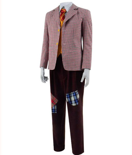 Joaquin Phoenix Joker Checkered Blazer