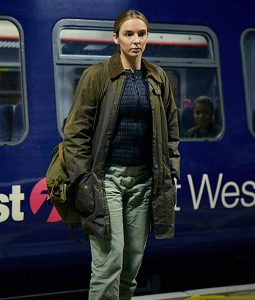 Jodie Comer Brown Cotton Coat From Killing Eve