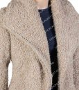 Killing Eve Jodie Comer Faux Shearling Fur Jacket