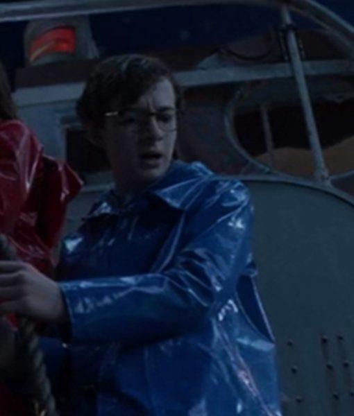 Klaus Baudelaire Blue Coat