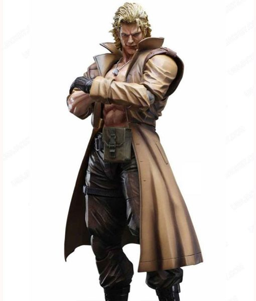 Liquid Snake Brown Coat