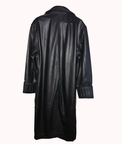 Samuel L. Jackson Nick Fury Iron Man 2 Leather Trench Coat
