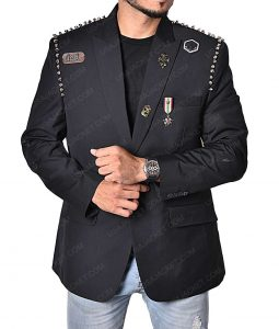 Douglas Booth The Dirt Nikki Sixx Jacket