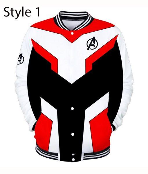 Quantum Realm Letterman Jacket