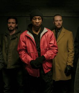 Captive State Rafe Drummond Red Jacket