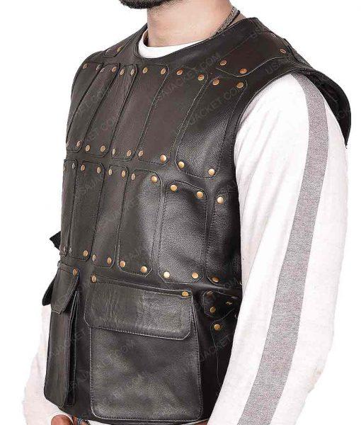 Taron Egerton Robin Hood Vest