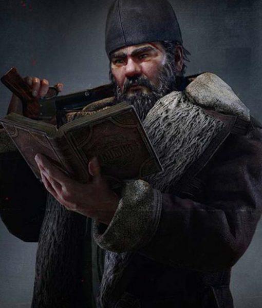 Sergey Popov Leather Coat