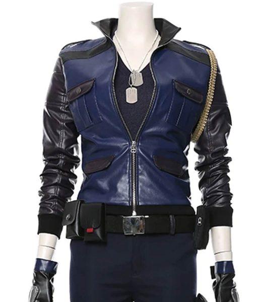 Sonya Blade Mortal Kombat 11 Ronda Rousey Leather Jacket