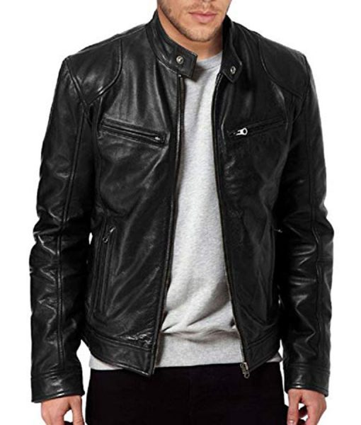 Steve Rogers Avengers Endgame Leather Jacket