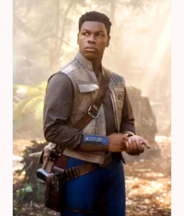 Star Wars Rise Of The Skywalker Finn Leather Vest