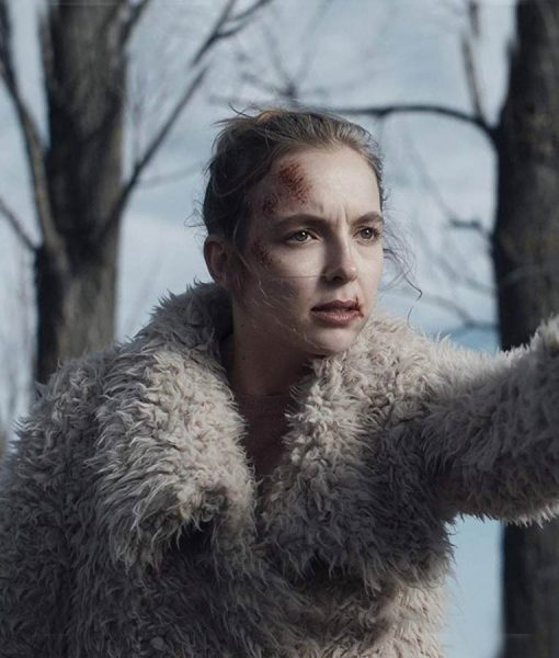 Killing Eve Villanelle Fur Jacket