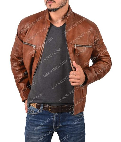 Cyclops Jim Lee Leather Jacket