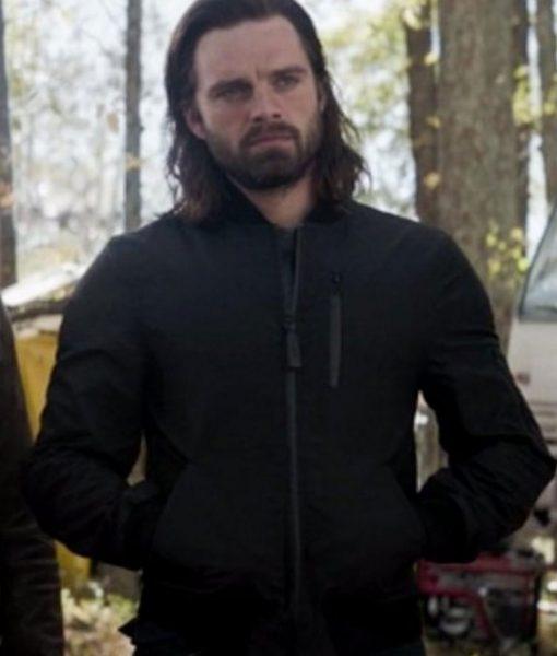 Avengers Endgame Bucky Barnes Bomber Jacket
