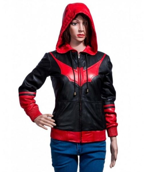 Batwoman Bomber Hooded Jacket