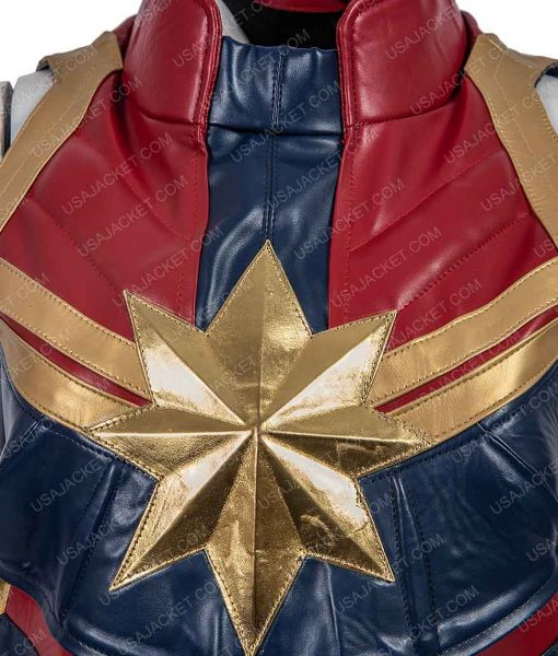 Captain Marvel Brie Larson Vest