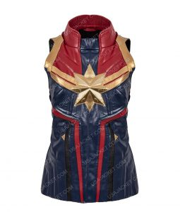 Captain Marvel Cosplay Vest