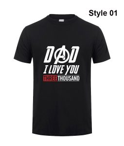 Avengers Endgame Dad I Love you Three Thousand Time T-shirt