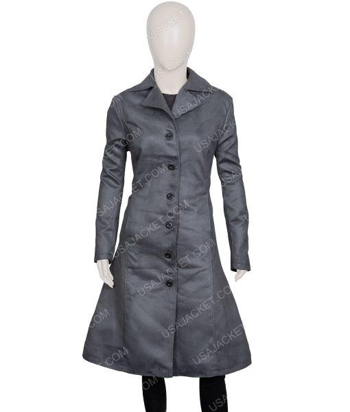 Dark Phoenix Sophie Turner Grey Coat
